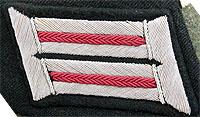 Litzen tunica de oficial