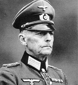 Generalmajor von Rundstedt