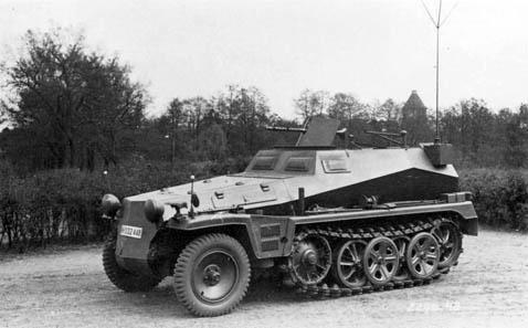 Restos Sdkfz 250 en Euskirchen